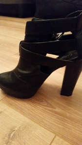 Cut out ankle boots from New Look. Bought last winter but there are some similar styles in stores this year too!